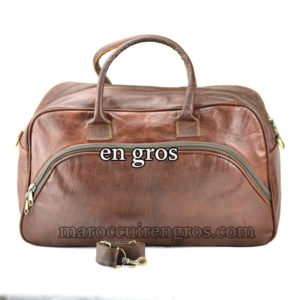 LEATHER BAGS / TRAVEL BAG Moroccan leather wholesale